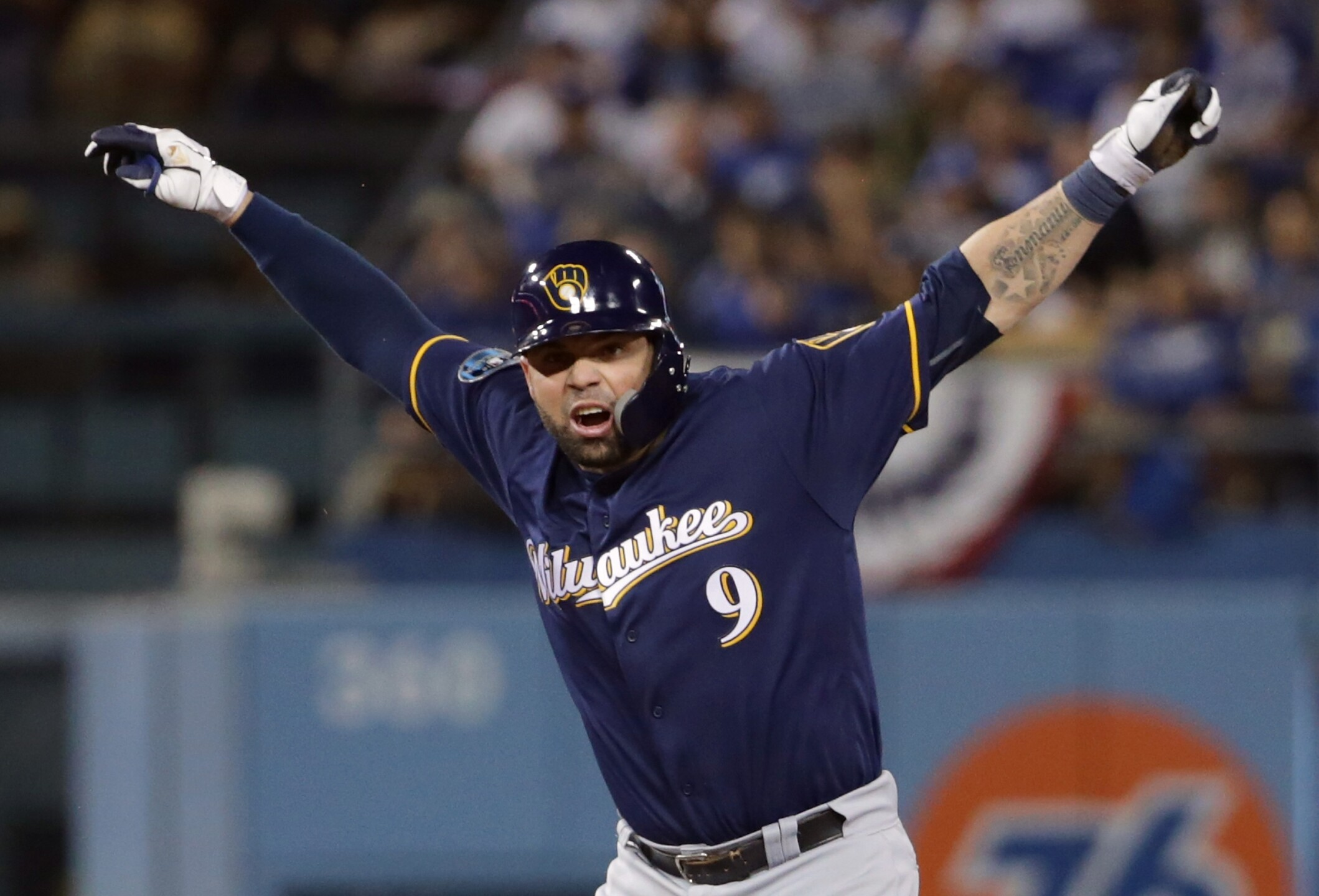 Catcher Manny Pina
