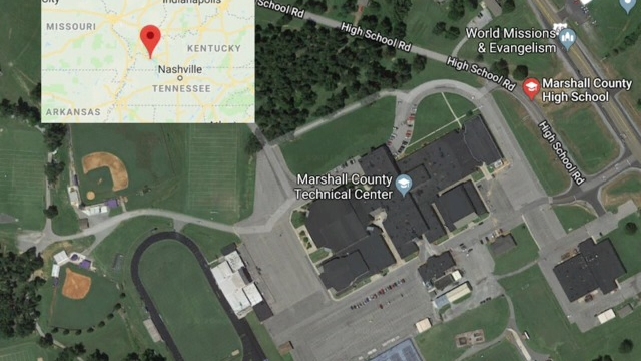 14 shot, two dead after Kentucky school shooting