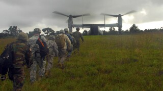 Photos: U.S. troops assisting in Ebola mission may be quarantined ifexposed