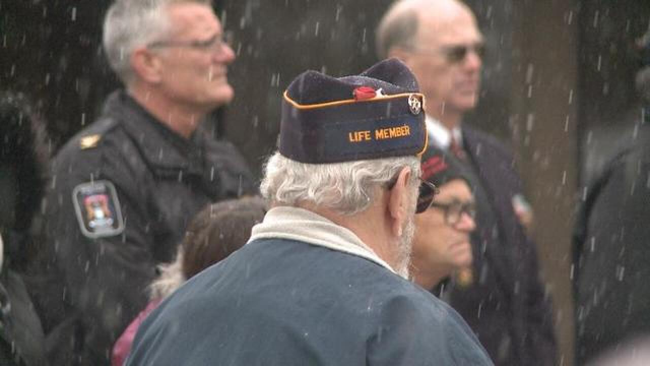 Veterans want more emphasis on American history