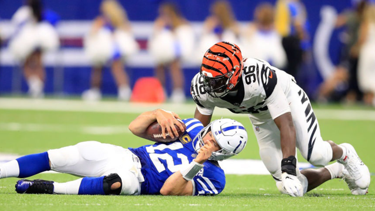 Cincinnati Bengals struggle with rule changes designed to protect quarterbacks