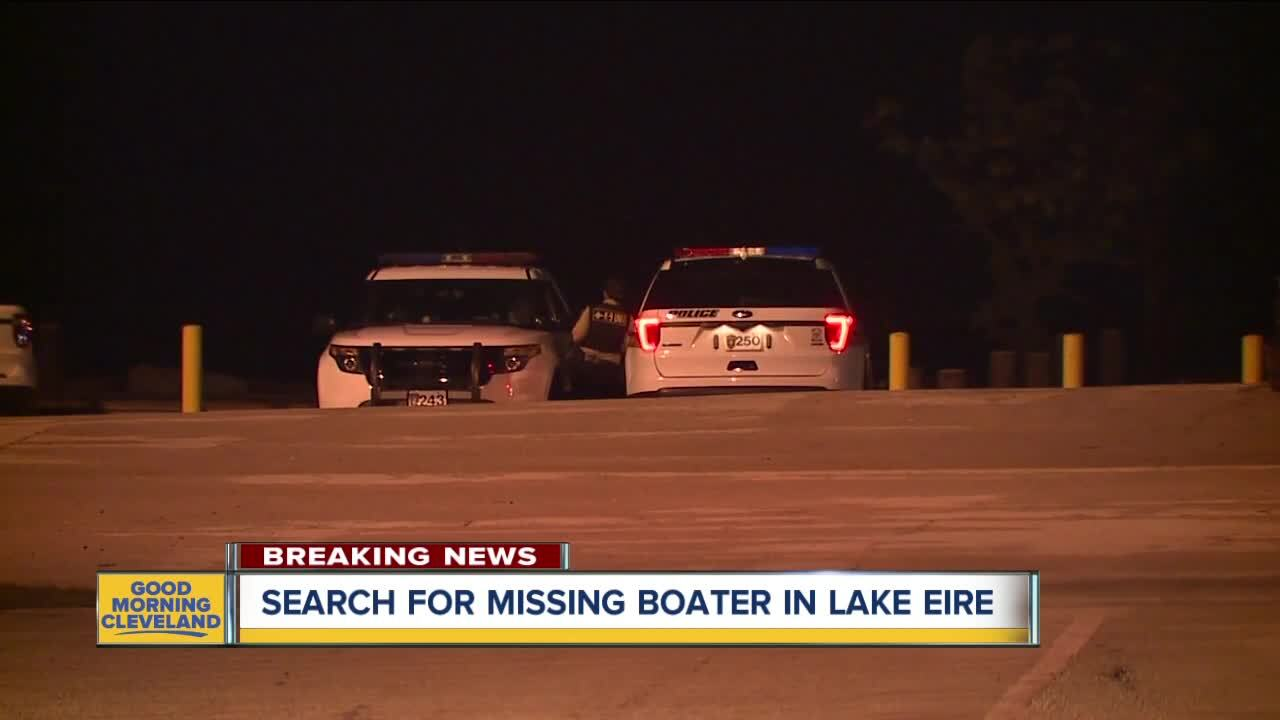 Missing Lake Erie boater