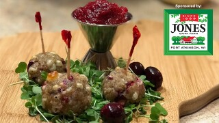 Recipe of the month: Jones sausage and cranberry meatballs
