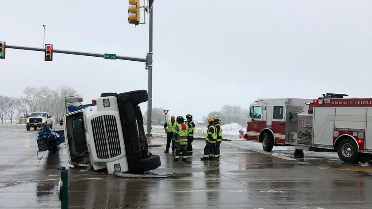 Berthoud three-car crash April 30, 2019 (second)