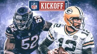 NFL Kickoff - Bears vs Packers