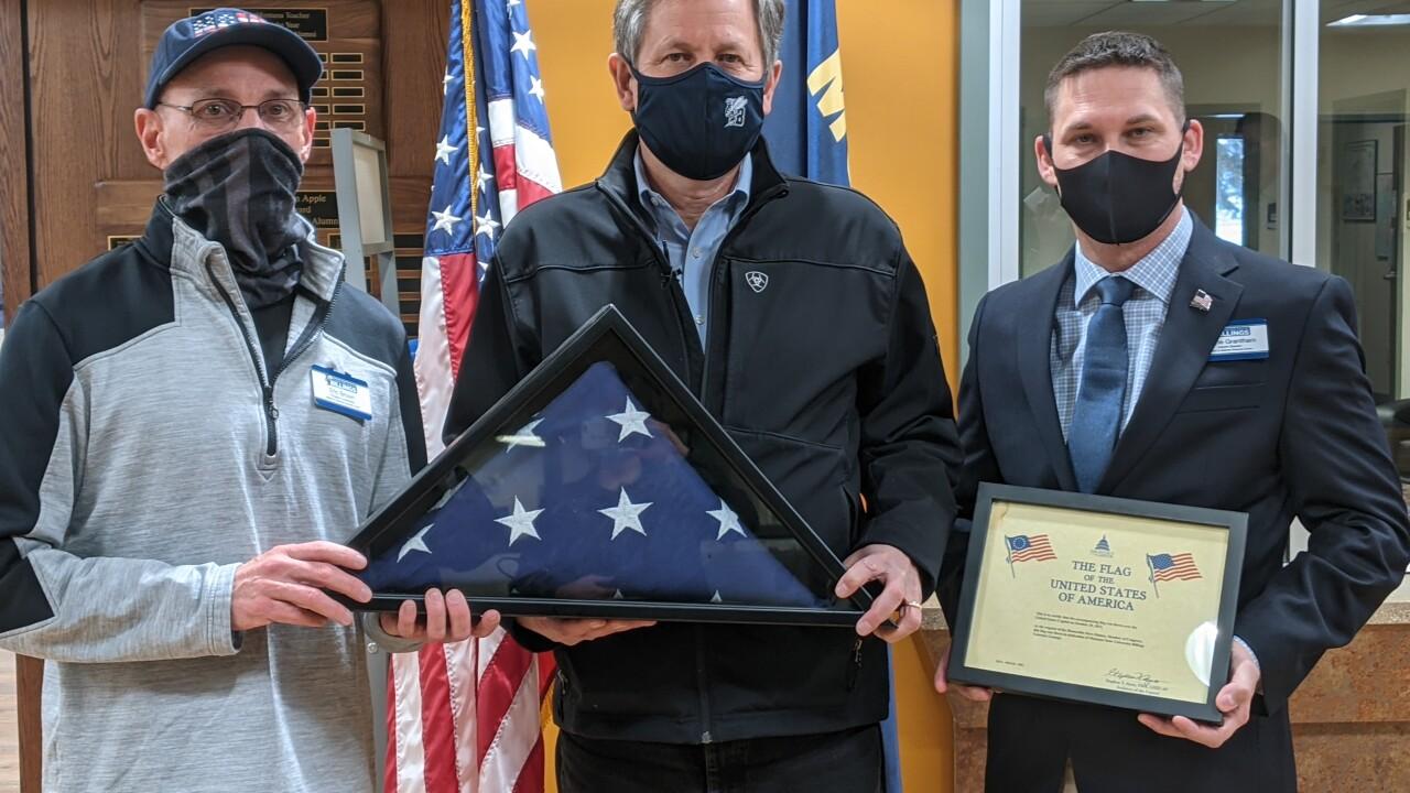 Sen. Steve Daines visits Montana State University Billings
