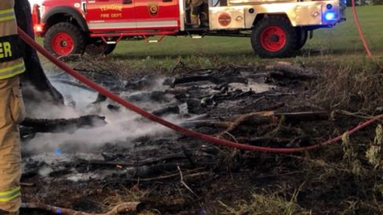 Multiple fire agencies respond to brush fire