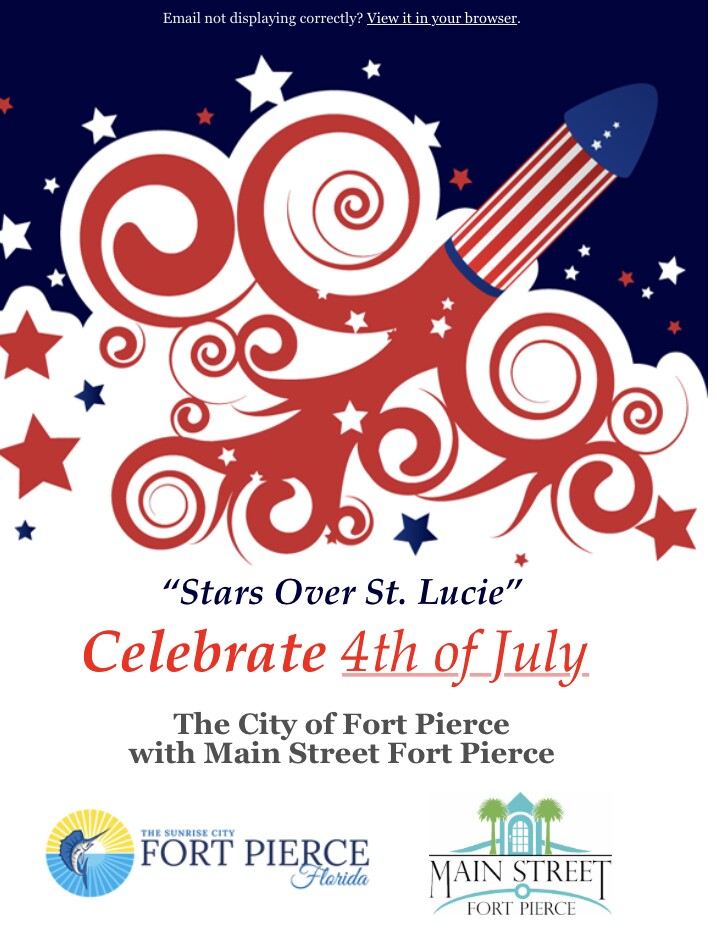 Fort pierce 4th of july 2021 flyer