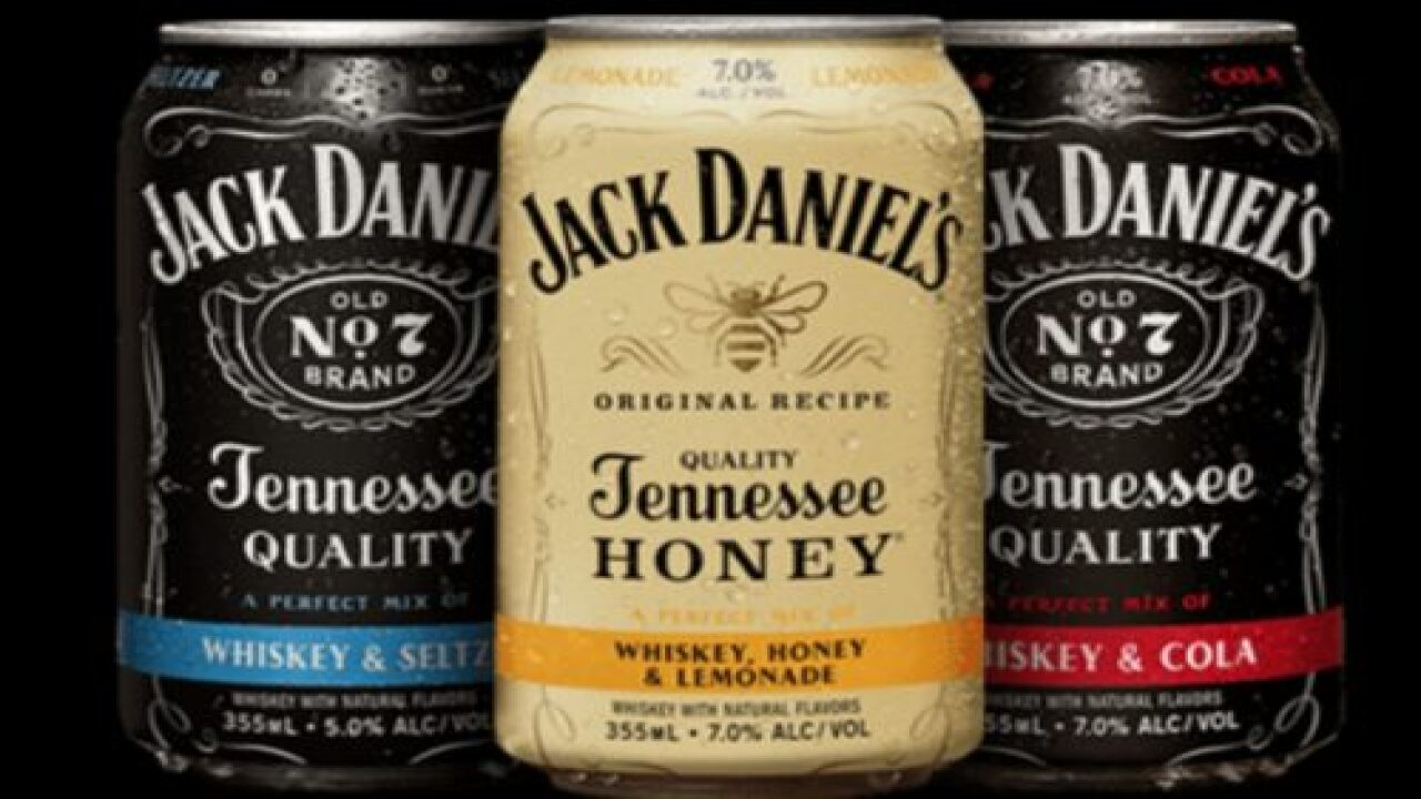 Jack Daniel's Released A Trio Of Canned Cocktails Just In Time For Summer