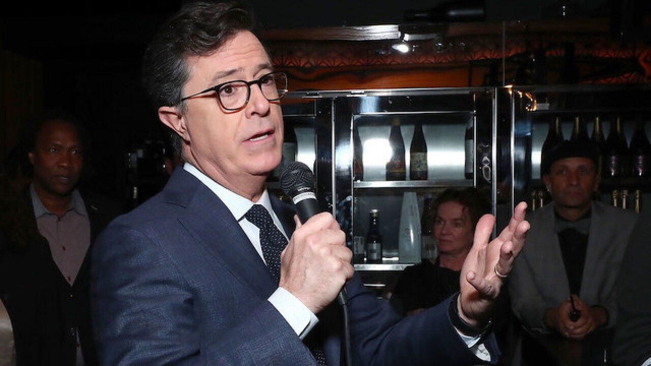 Stephen Colbert on insult war with Trump: 'I won'