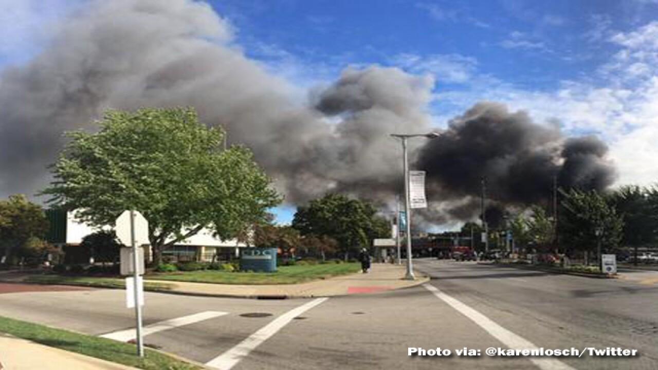 1 hurt battling warehouse blaze in Little Italy