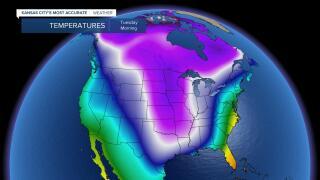 Arctic Blast Reaches Peak