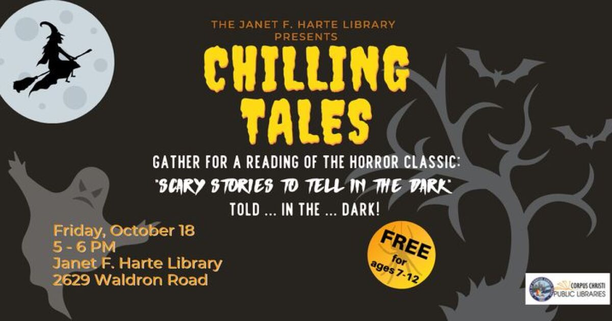 'Scary Stories to Tell in the Dark' reading at local library