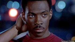 Eddie Murphy in a scene from 'Beverly Hills Cop' film