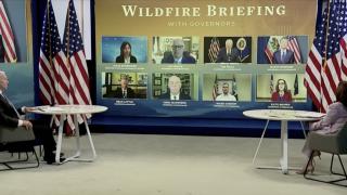 Biden Wildfire Briefing