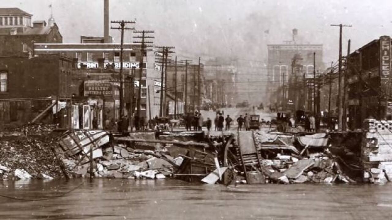 A Snapshot: Great Flood of 1913 in Indianapolis