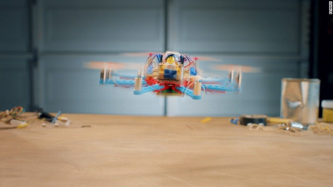 Legos take flight with new DIY drone kit