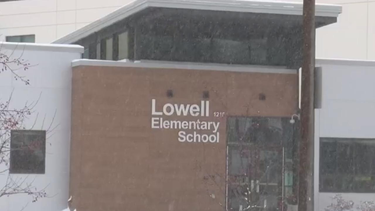 Lowell Elementary School Winter