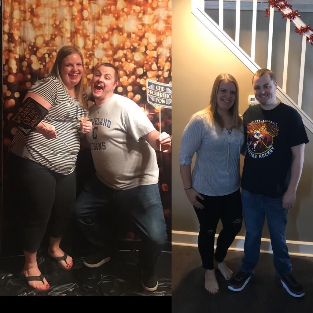 Jake and Amber Sims weight loss