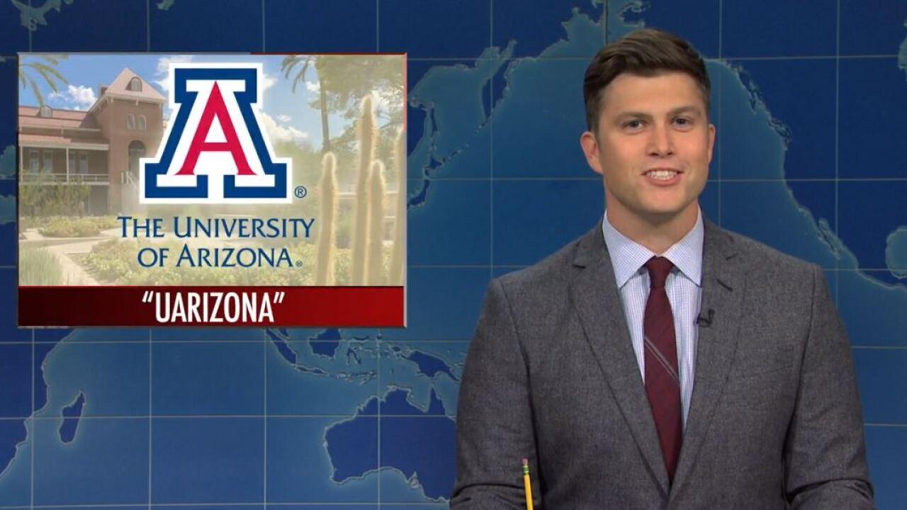 Saturday Night Live mocks 'UArizona' name change