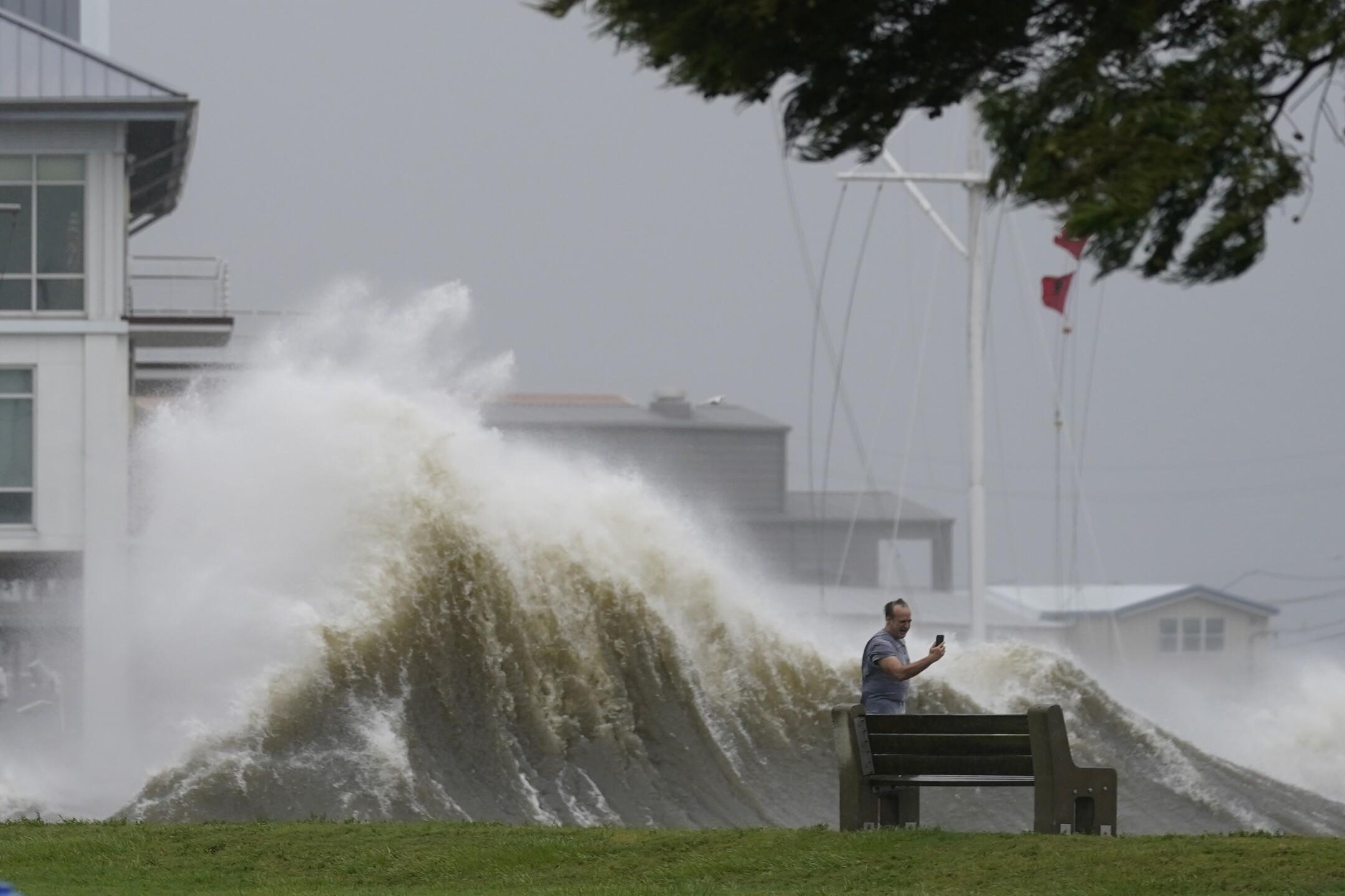 APTOPIX Tropical Weather Atlantic
