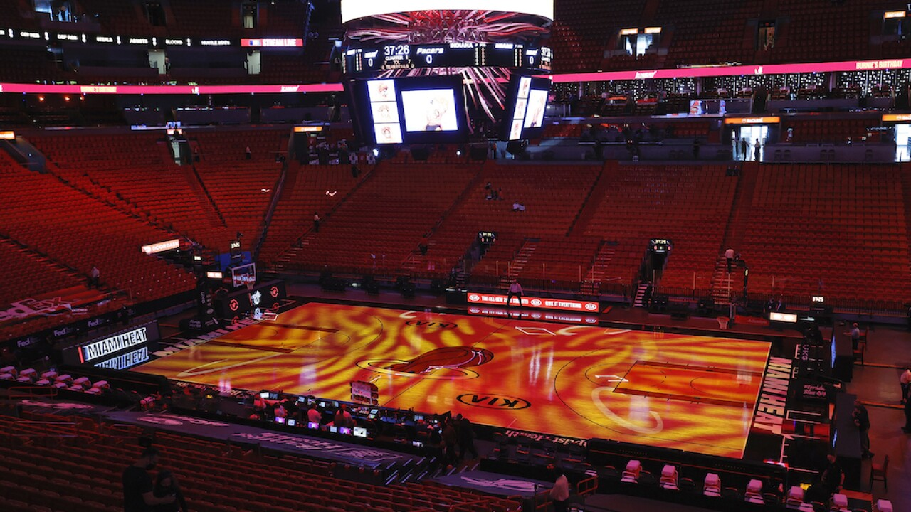 Miami Heat American Airlines Arena