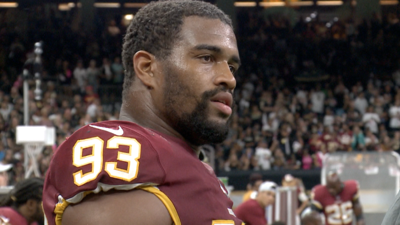 'Skins scoop: Jonathan Allen's emotional, profanity laced assessment of blowout vs. Saints