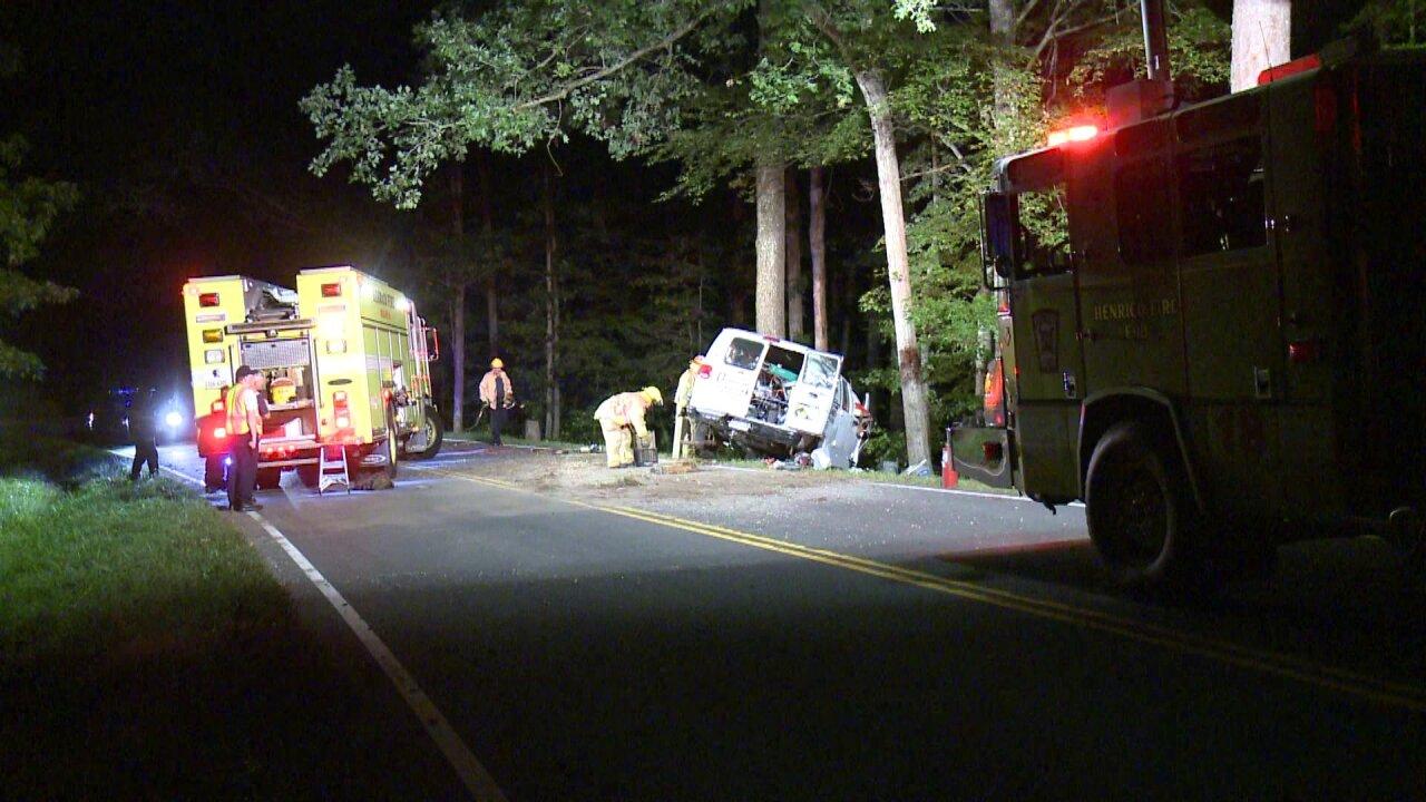 Henrico man killed in Route 5 van crash, survivor walks to home forhelp