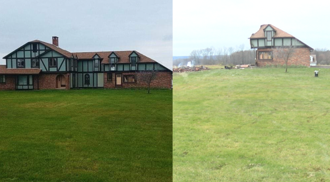 Brown Hill House b4 and after