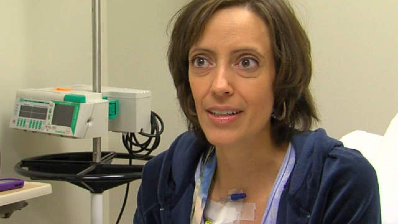 Darlene Gant gets investigational drug to fight off breast cancer