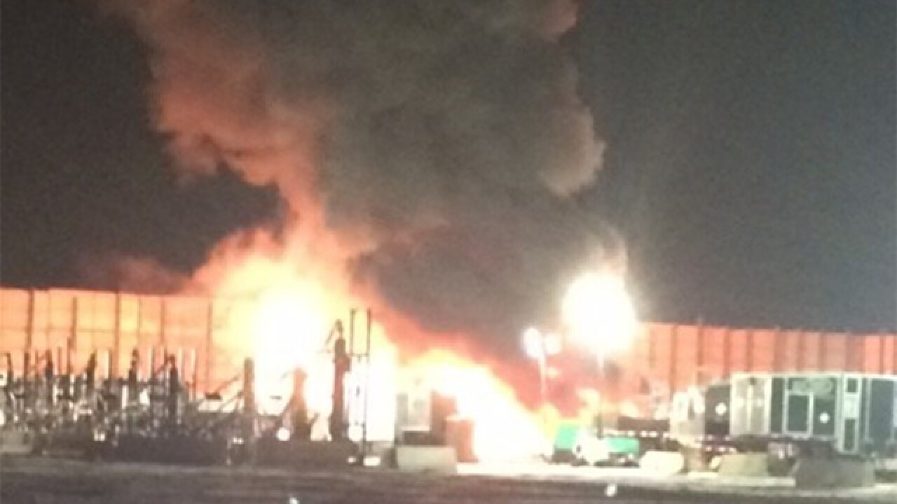 Explosion reported on Highway 392 in Windsor