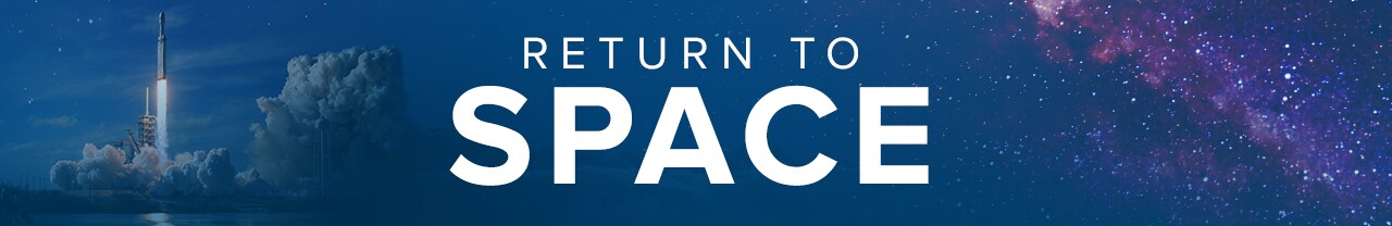 'Return to Space' WPTV header graphic