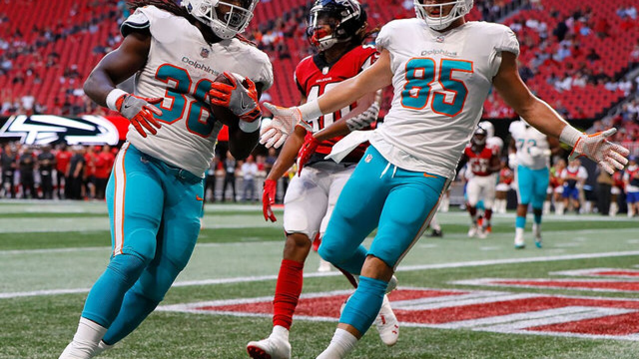 Dolphins top Falcons 34-7 in final preseason game