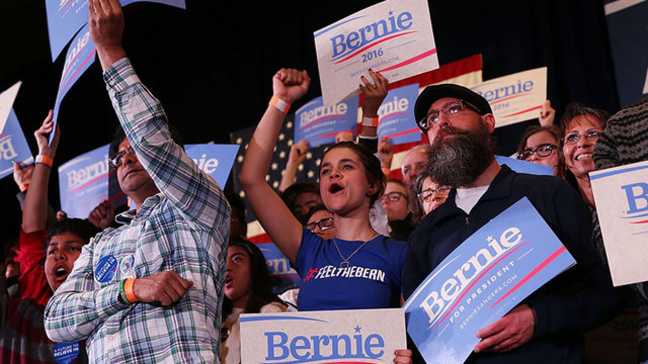 Sanders faces challenge Saturday with youth vote