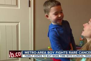 Olathe family hoping for miracle for 5-year-old with inoperable cancer