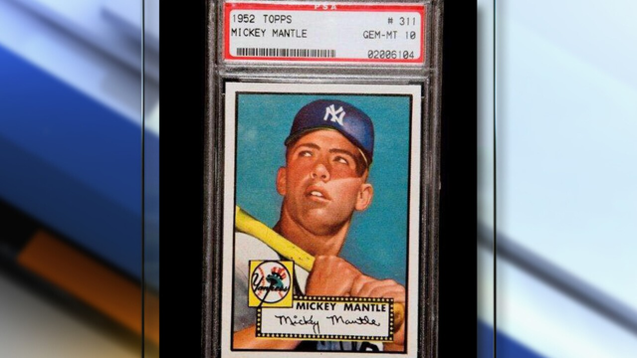 Holy Grail Of Baseball Cards To Display At History Colorado Center