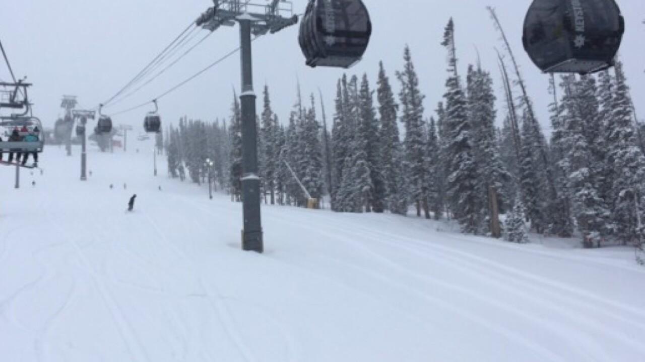 man dies after crashing into tree at breckenridge ski resort