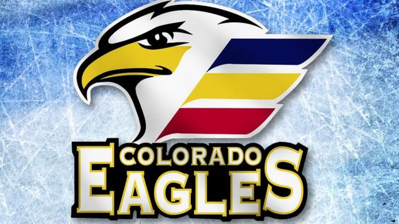 The Colorado Eagles beat the Fort Wayne Komets 4-3 in OT in game 7 of the ECHL Western Con. Finals