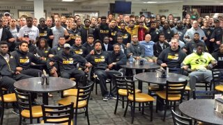 Mizzou Football joins 2015 protest