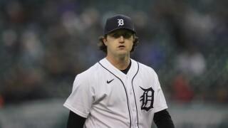 Casey Mize Yankees Tigers Baseball