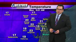 Juan Acuña's weather for Feb. 15, 2021