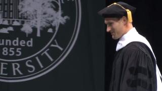 Kirk Cousins MSU graduation