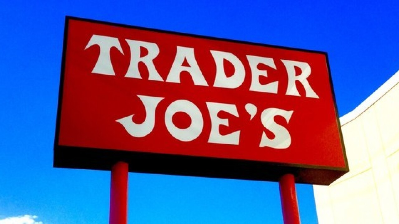 Red Trader Joe's sign