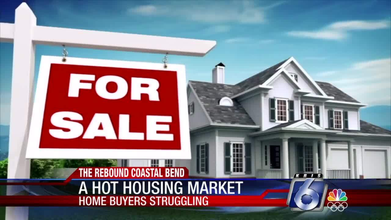Home buyers are finding a blistering hot housing market