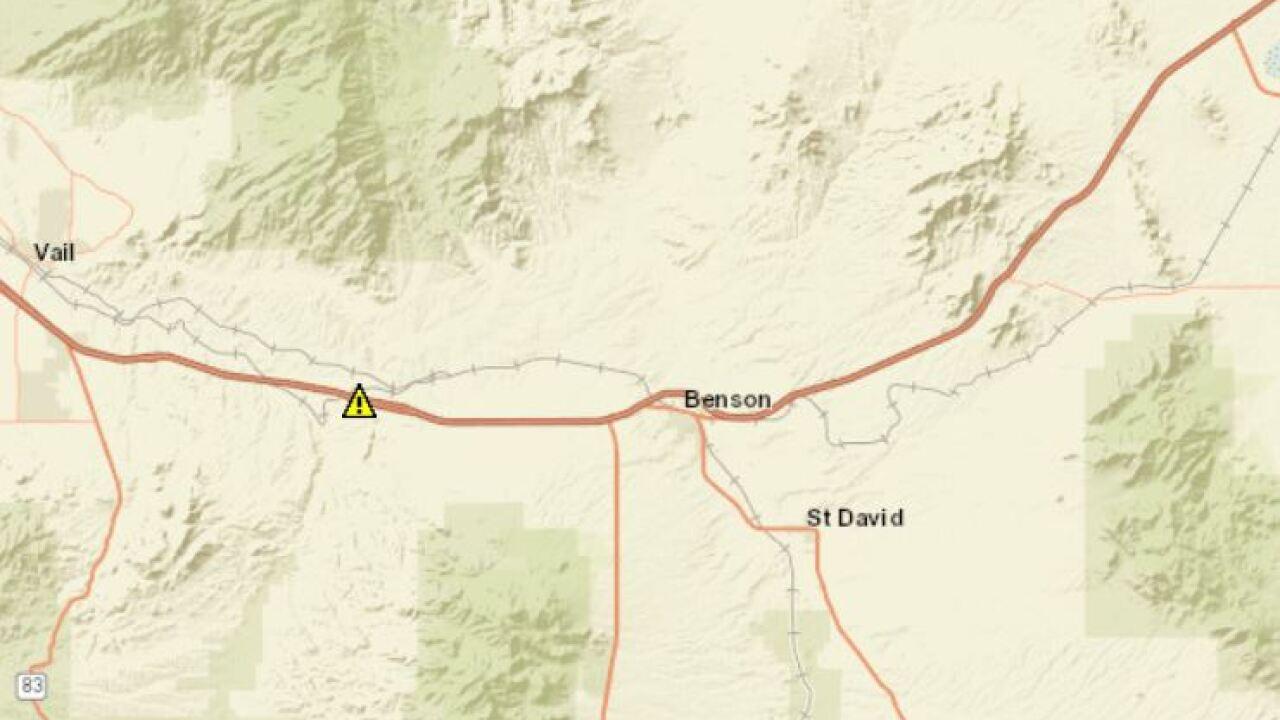 Benson rollover map