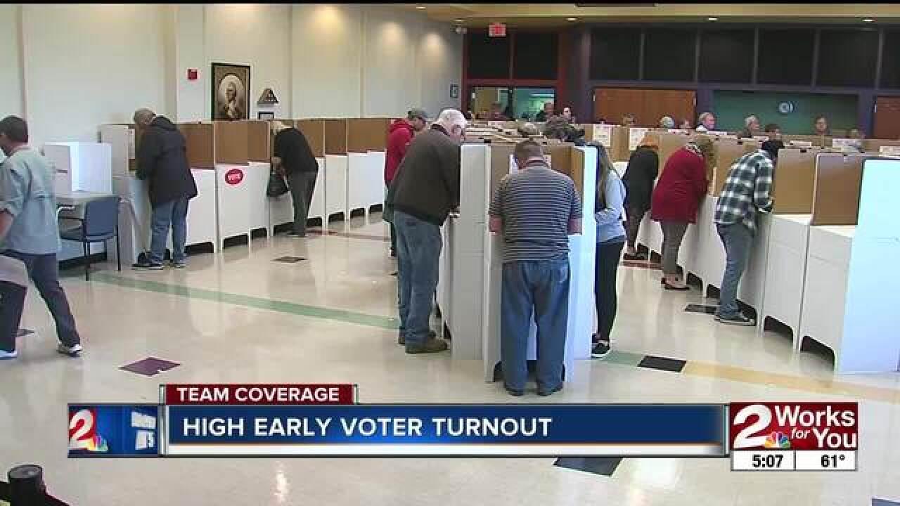 Oklahomans take advantage of early voting