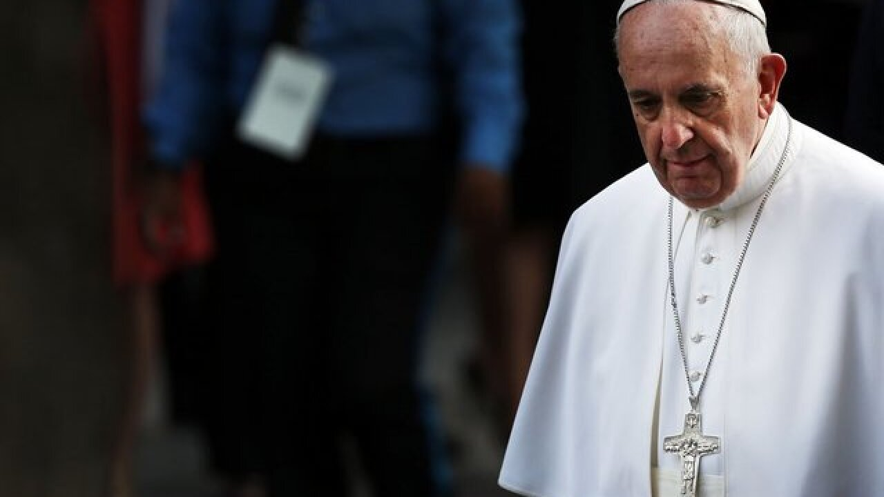 VOTE NOW:  Did the Pope's letter condemning the clergy sexual abuse scandal come too late?