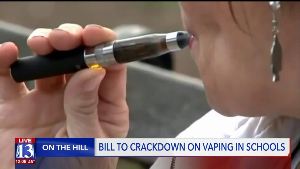 Utah House to take up vaping bill; Romney pushes for nationwide ban on flavoring