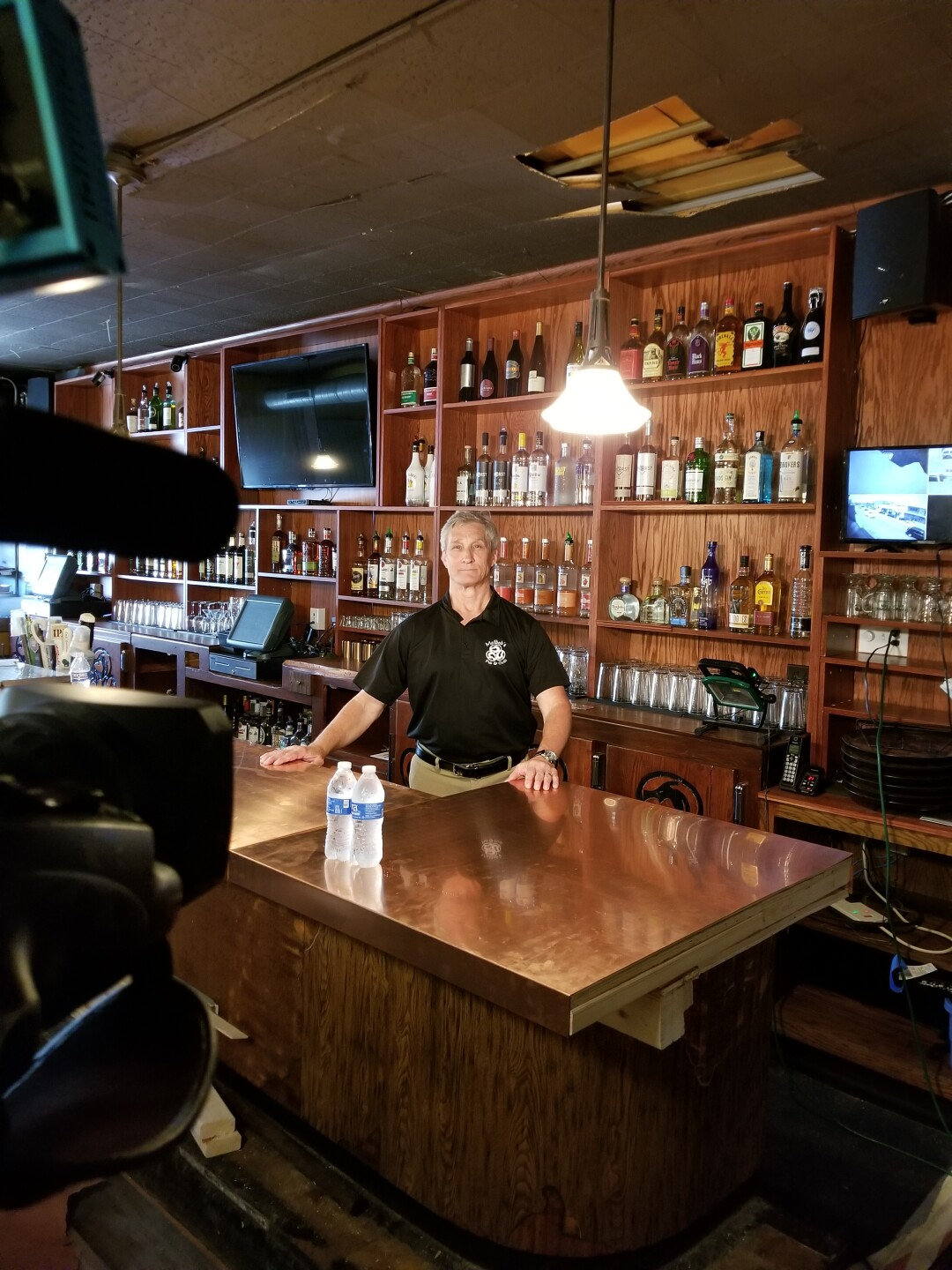 McBob's owner Steve Schmich said it's crucial he can offer dine-in services soon because he has lost a lot of business due to the coronavirus.
