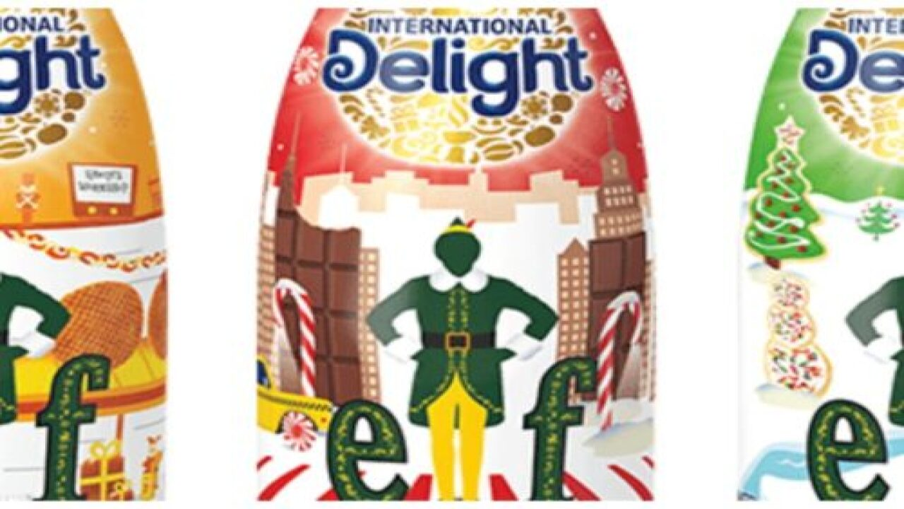 New Holiday Coffee Creamer Is Inspired By The Movie 'Elf'
